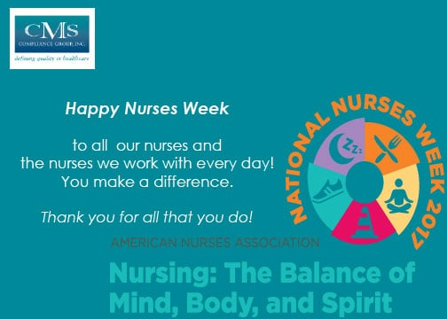 Happy Nurses Week from CMS Compliance Group